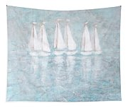 Sailaway By V.kelly Tapestry