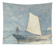 Sailing A Dory Tapestry