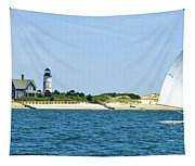Sailing Around Barnstable Harbor Tapestry