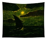 Sailing By Moonlight Tapestry