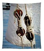 Sailing Dories 2 Tapestry