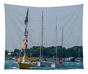 Sailing North Tapestry