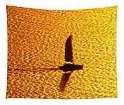 Sailing On Gold Tapestry