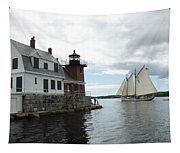 Sailing Out Tapestry