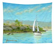 Sailing Out To Sea Tapestry