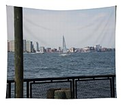 Sailing The Hudson River 1 Tapestry