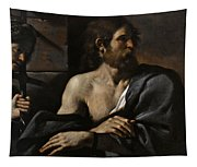 Saint John The Baptist In Prison Visited By Salome Tapestry