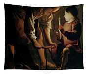 Saint Joseph The Carpenter  Tapestry