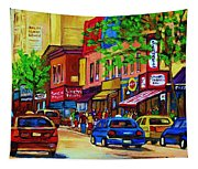 Saint Lawrence Street  Tapestry