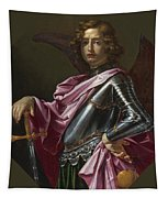Saint Michael The Archangel Tapestry