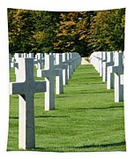 Saint Mihiel American Cemetery Tapestry by Travel Pics