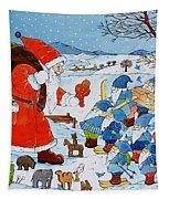 Saint Nicholas Tapestry by Christian Kaempf