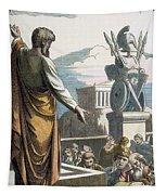 Saint Paul At Athens Tapestry