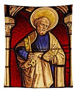 Saint Peter  Stained Glass Tapestry