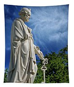 Saint Peter With Keys To Heaven Tapestry