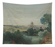 Saint Peter's Seen From The Campagna Tapestry