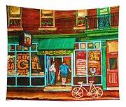 Saint Viateur Bakery Tapestry