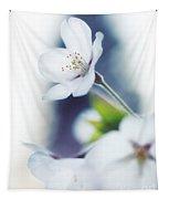 Sakura Cherry Blossom Flowers Tapestry