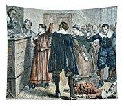 Salem Witch Trials Tapestry