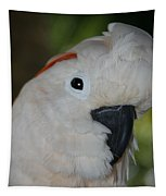 Salmon Crested Cockatoo Tapestry