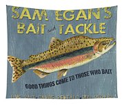 Sam Egan's Bait And Tackle Tapestry