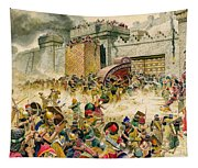 Samaria Falling To The Assyrians Tapestry