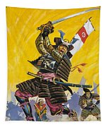 Samurai Warriors Tapestry