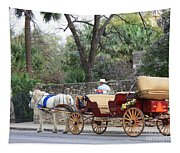 San Antonio Carriage Tapestry