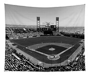 San Francisco Ballpark Bw Tapestry
