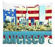 San Francisco California Tapestry