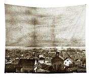San Francisco, From Clay Street, 1855 Tapestry