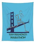 San Francisco Marathon2 Tapestry