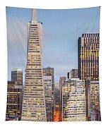 San Francisco Skyline 2 Tapestry