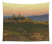 San Gimignano, 1898 Tapestry