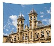 City Hall - San Sebastian - Spain Tapestry