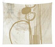 Sand And Stone 2- Contemporary Abstract Art By Linda Woods Tapestry