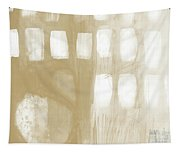 Sand And Stone 4- Contemporary Abstract Art By Linda Woods Tapestry