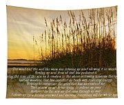 Sand And Surf Tapestry