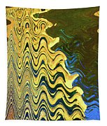 Sand At The Beach Abstract Tapestry