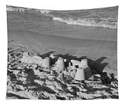Sand Castles By The Shore Tapestry