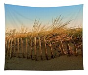 Sand Dune In Late September - Jersey Shore Tapestry