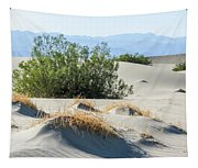 Sand Dunes, Plants, Mountains Tapestry