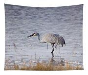 Sandhill On The Shore Tapestry