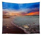 Sandpiper Sunrise Tapestry