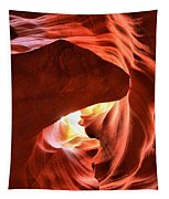 Sandstone Dog Abstract Tapestry