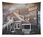 Sandy Hook Beach House Tapestry
