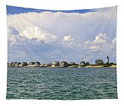 Sandy Neck Cottage Colony Tapestry