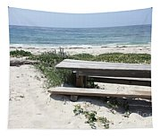 Sandy Picnic Table Tapestry