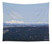 Sangre De Cristo Mountains From Bald Mountain Colorado Tapestry