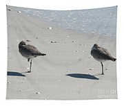 Sanibel's Gulls Tapestry